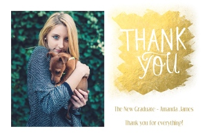 Graduation Thank You Card 1