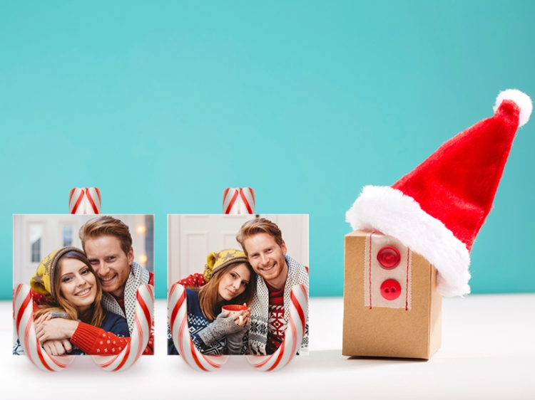 Photo Candy Cane Holders