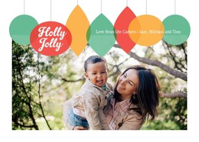 Holly Jolly Ornaments - Green
