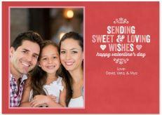 Loving Stamp Valentine's Day Photo Greeting Card