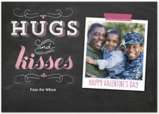 Old Fashion Love Valentine's Day Photo Greeting Card