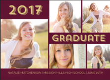 2017 Graduation Announcement