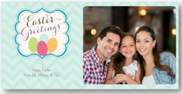 Easter Photo Card- Framed Blessings