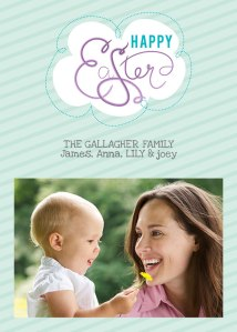 Easter Photo Card- Enscribed Easter
