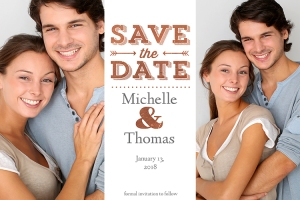 Happy to Announce- Save the Date Cards