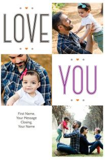 Love for Dad-Father's Day Greeting Card